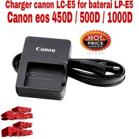 charger canon LC-E5 for kamera eos 450D - 500D - 1000D