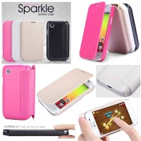 Lg L40 D160 / L40 Dual D170 - Nillkin Sparkle Series Leather Case