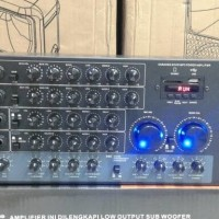 harga Murah Amplifier Karaoke Pewie Da 3500 8ch/amply Karoke  Tokopedia.com