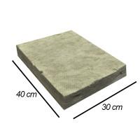 Jirifarm Hidroponik Rockwool Slab Ukuran 30x40 cm Tebal 5 cm (11479)
