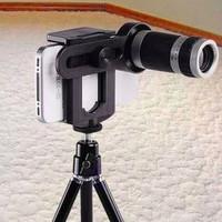 Lensa Telezoom 8X Tripod / Tongsis / Untuk Hp / Buat Hp