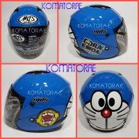 harga Helm Mds Sport R3 Junior Ltd Doraemon Smiley Blue White Helm Anak Tokopedia.com