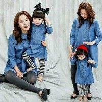 CPMK HOLAND/2W GESER GAMBAR KEKIRI/dress/ibu dan anak/mom kids/couple