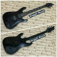 Khusus Gojek - Gitar Schecter Demon 6 Fr ( Hitam )