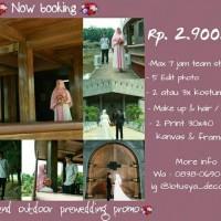 prewedding outdoor /promo paket prewedding / prewedding murah /