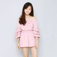 MM1431 Calya Jumpsuit by Miss&Misses / Mini / Sabrina / Bellsleeve