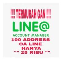 TAMBAH LINE ADDER OFFICIAL ACCOUNT ( OA ) LINE