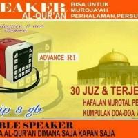 Speaker Al-Quran R1 chip 8gb / class 10. Speaker Murattal