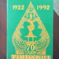 70 tahun taman siswa 1922-1992 - Majelis Luhur Persatuan taman siswa