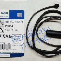 sensor rem belakang bmw e46 merk hella pagid atau brake sensor rear