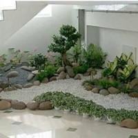 Taman kering konsep taman dalam ruangan