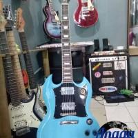 Gitar Gibson SG Blue Custom