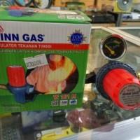 Regulator tekanan tinggi buat kompor jos atau kompor jualan, win gas