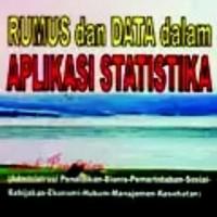 Rumus dan Data dalam Aplikasi Statistika
