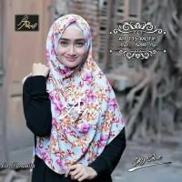 Jilbab ARRAFI 115 Pashmina Instan Motif