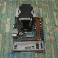 Motherboard ECS G41T-M16 Intel Core2Duo E8500 3.16Ghz HSF Paket