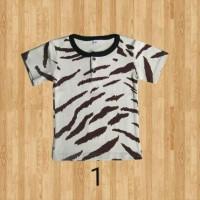 Jual kaos t-shirt anak motif basic tee motif as baby kids usia 1 tahun Murah