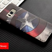 Casing Samsung Galaxy S8/ S 8 Case Silicone 3D Marvel Super Hero
