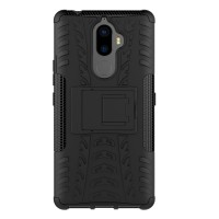 Rugged Armor Casing Lenovo K8 k 8/ K8 Note Hard Soft Case Kick Stand