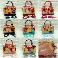 TAS FURLA JELLY FLOWER SEMI ORI #