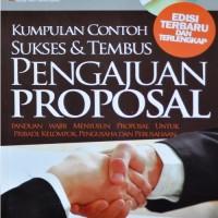 Kumpulan Contoh Sukses & Tembus Pengajuan Proposal (SC)