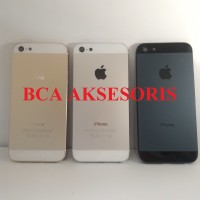 CASING IPHONE 5 5G BACK COVER FULL HOUSING BACK DOOR