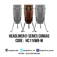 "Meinl Headliner Series Congas Vintage Wine Barrel 11"" Quinto"
