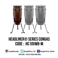 "Meinl Headliner Series Congas Vintage Wine Barrel 10"" Nino"