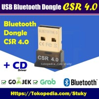 Jual CSR Dongle Bluetooth Receiver Adapter USB v4.0 for Headset PC Speaker Murah