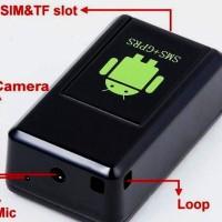 Sadap Suara Camera Mini Tracker GPS GSM MMS + GPRS Locator GF-08