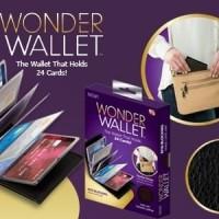 Jual Wonder Wallet / Dompet Kartu Atm dan Kartu Nama / isi 24 Murah