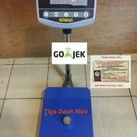 harga Timbangan Duduk / Timbangan Lantai / Bench Scale 100 Kg Tokopedia.com