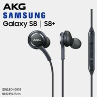 Hf handsfree earphone headset samsung s8 + plus design by AKG ORIGINAL