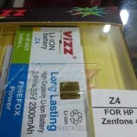 FLASH SALE Baterai Vizz Asus Zenfone 4 2300mAh - Double Power Batre S