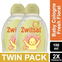 Zwitsal Baby Cologne Classic Fresh Floral 100ml - Twin Pack