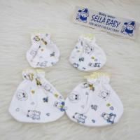STELLA motif Sarung Tangan Kaki Bayi Murah Lucu