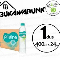 Pristine 400ml Mineral Water Ionisasi 1dus (24pc)
