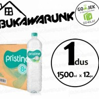 Pristine 1500ml Mineral Water Ionisasi 1dus (12pc)