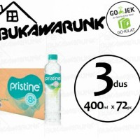Pristine 400ml Mineral Water Ionisasi 3dus (72pc)