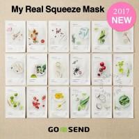 [Innisfree] My real squeeze mask - Masker Wajah /Sheet Mask Korea Ori!