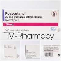 Jual [BOX] Roaccutane 20mg by Roche / Jamin Original 100% / Obat Jerawat Murah