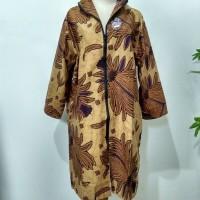 Jual outerwear bolero zipper / blouse batik zipper Murah