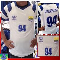 Jersey Persib Bandung Retro Juara 94 Putih