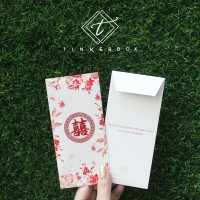 Amplop angpao uang nikah / wedding envelope salem / peach