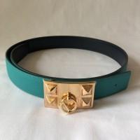 hermes belt 32mm blue paon and blue indigo size 85