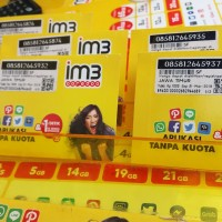 Paket Data 3GB Jaringan 3g 4g Kuota Murah Internet Indosat IM3 Ooredoo