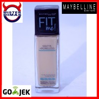 MAYBELLINE FIT ME MATTE + PORELESS FOUNDATION #120 CLASSIC IVORY