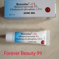 Benzolac CL 10 gr - Acne Gel - Obat jerawat