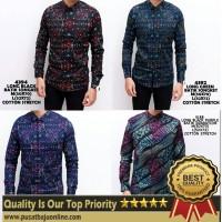 Harga baju kemeja batik pria casual kemeja batik | Pembandingharga.com