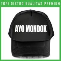 topi Ayo Mondok Trucker Baseball Snapback TMB1196 Distro